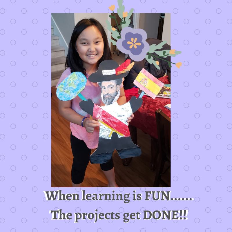 When Learning is FUN...... The projects get DONE!! (1)